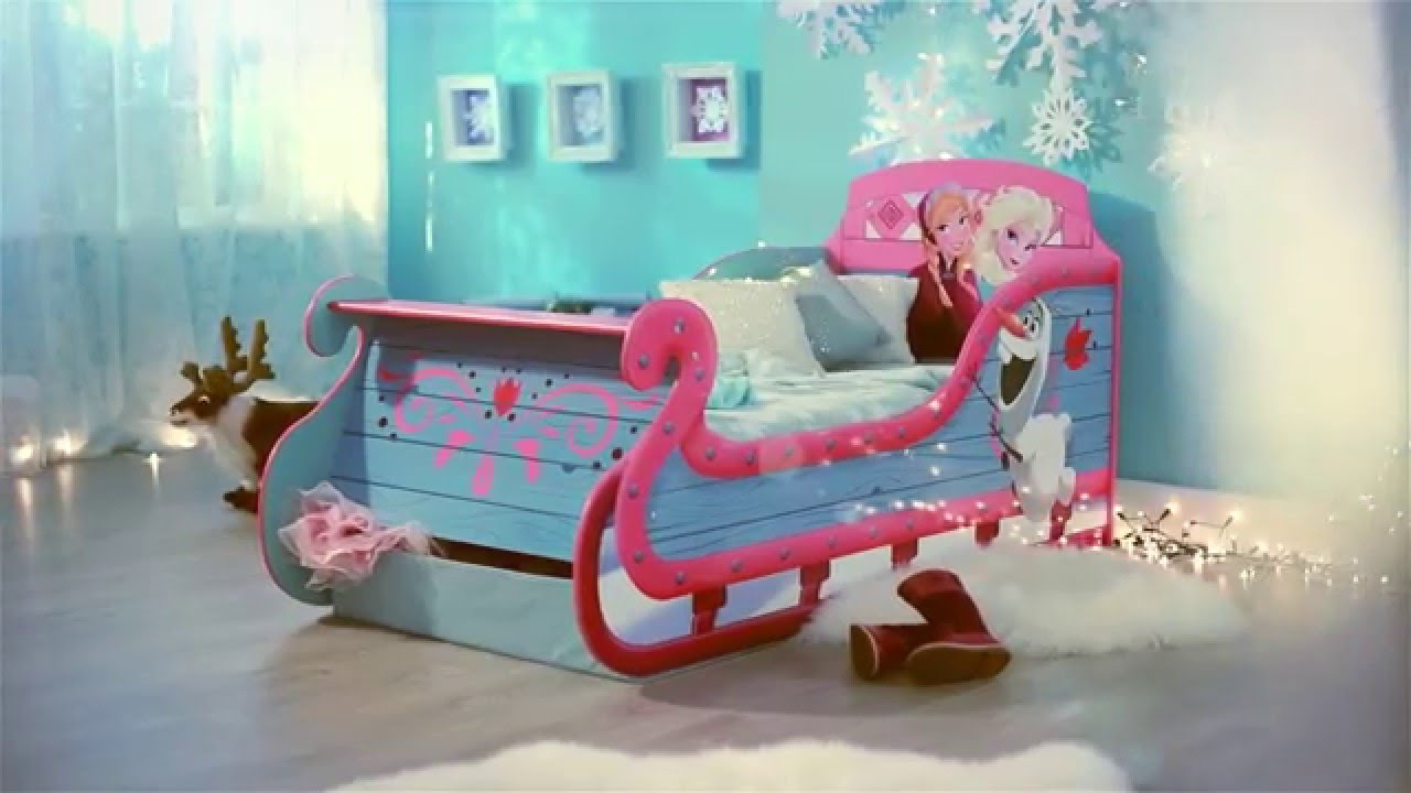 Frozen Sleigh Dream Toddler Bed Hellohome Youtube