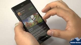 Обзор BlackBerry Z3
