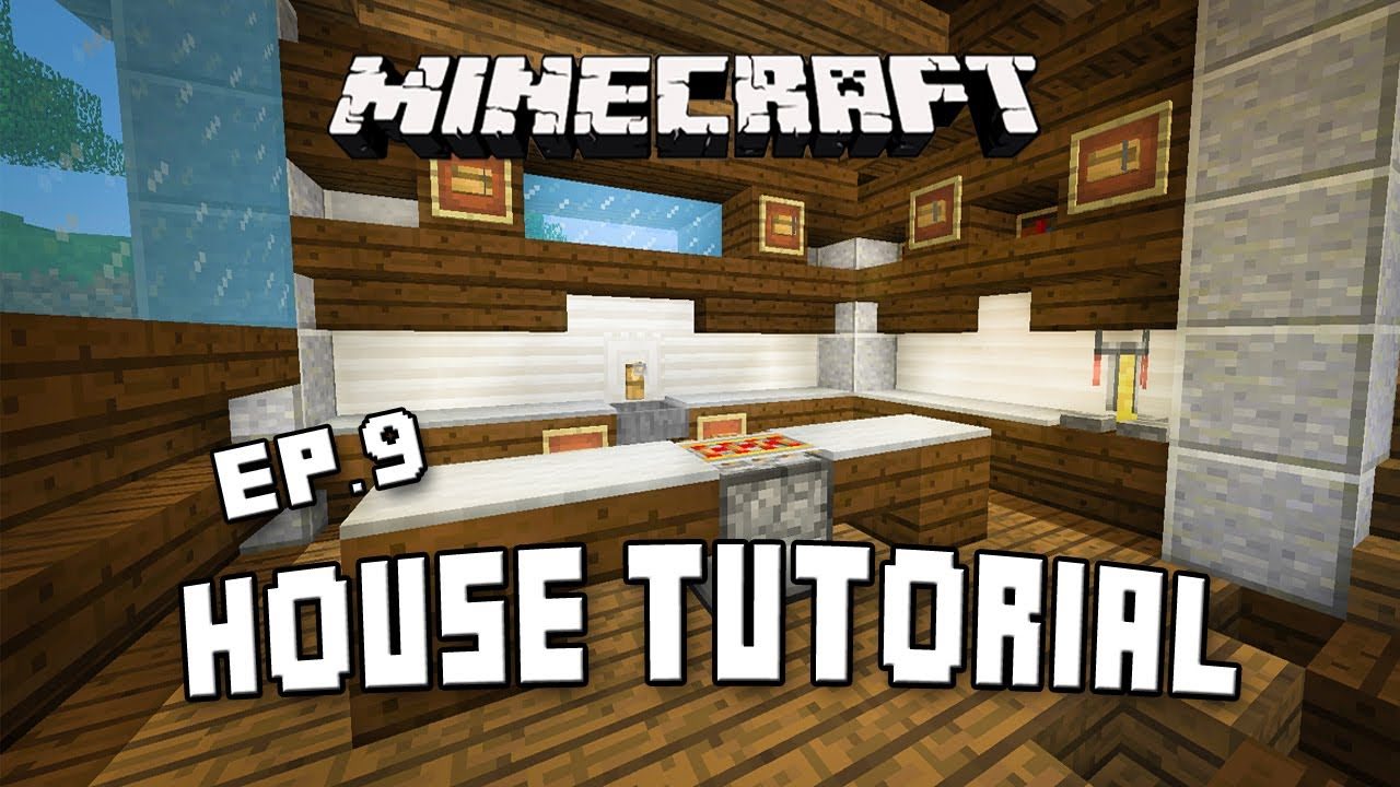 Minecraft Modern Kitchen Minecraft How To Make A Kitchen Scarland Fishing Cabin Part 9