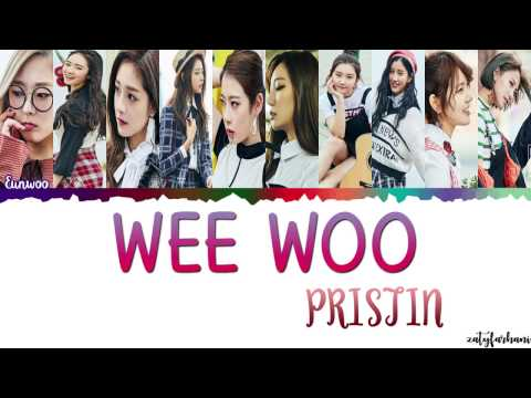 Free Download Pristin (프리스틴) - Wee Woo Lyrics [color Coded_han_rom_eng] Mp3 dan Mp4