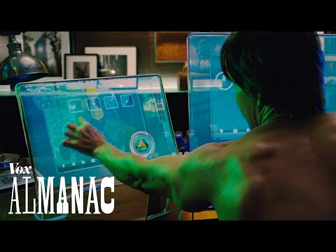 How the screens inside movies build fictional worlds