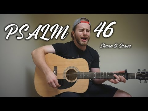 Psalm 46 - Shane & Shane | (Acoustic Cover by Zach Gonring)