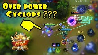 Build pemula cyclops Mobile Legends beserta tips n trick cara memainkan nya.