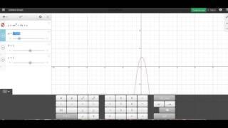 Desmos: Graphing a Quadratic Function Parabola
