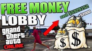 GTA 5 MONEY LOBBY - 100% FREE MILLIONS $$$ (GTA 5 Money Lobby)
