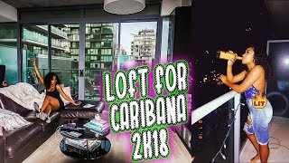 Gambar cover MOVING TO TORONTO?!?! | CARIBANA CARNIVAL PARTY VLOG  DAY 1 2018 | AIRBNB TOUR