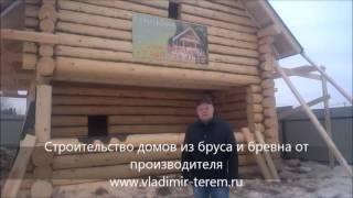 Баня из сруба - отзывы(Проекты срубов бань - http://vladimir-terem.ru/projects/proekty-ban/, 2016-03-18T11:40:24.000Z)
