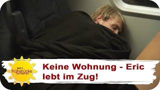 ERIC (25) LEBT SEIT 5 MONATEN IM ZUG: Miete in München ist zu hoch! | SAT.1 Frühstücksfernsehen | TV
