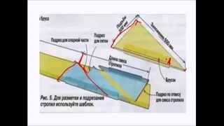 видео Полувальмовая крыша своими руками