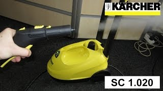 Пароочиститель Karcher SC 1.020 [Шолу] Парогенератор. Steam cleaner (ENG subtitles)