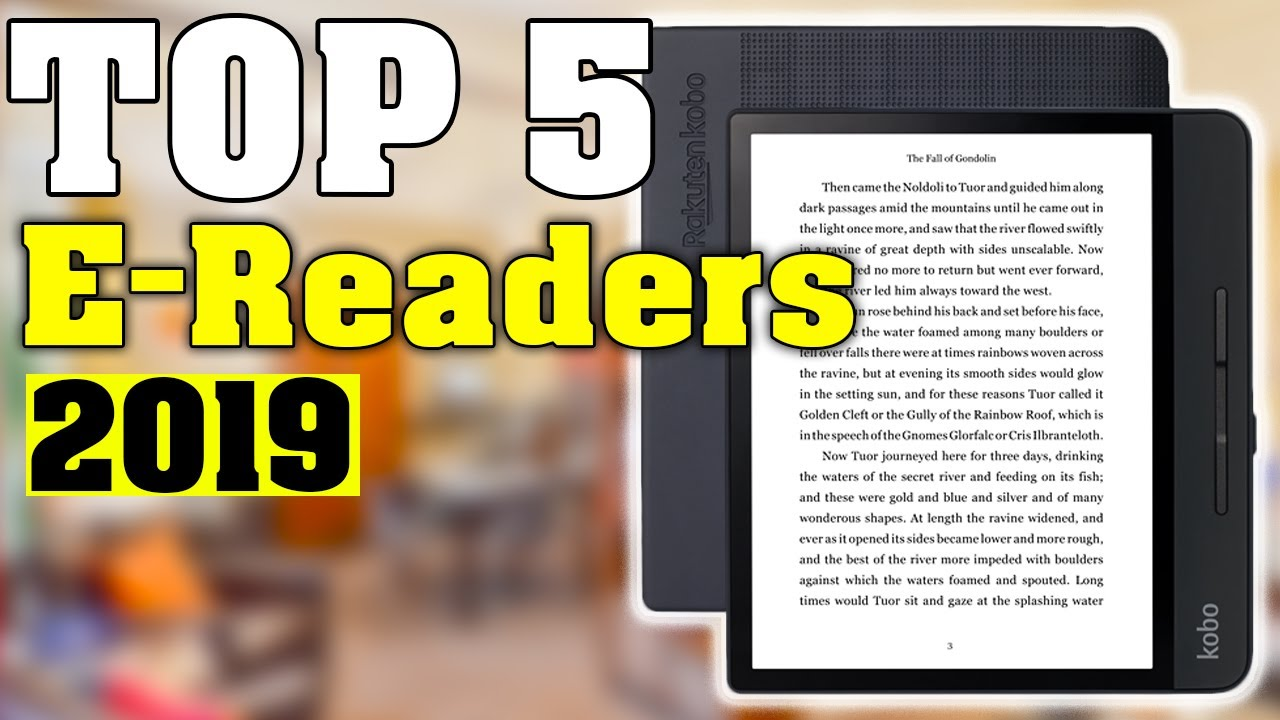 Best Tablet For Reading 2019 TOP 5: Best eReaders 2019   Best Tablets for Reading   YouTube
