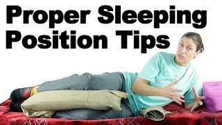 Скачать Proper Sleeping Position Tips Ask Doctor Jo