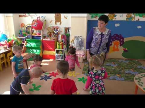 Занятие с детьми раннего возраста (городской конкурс)