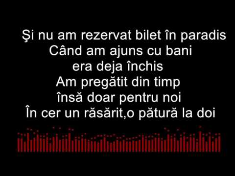 Weekend|The Motans feat. Delia (karaoke)