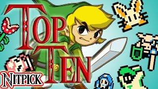 Top 10 ANNOYING Zelda Enemies Jonny Nitpick