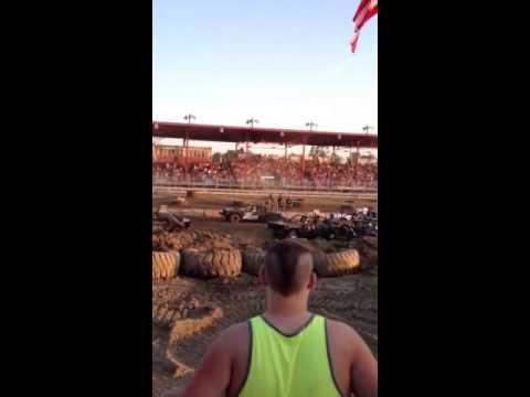 Muncie Indiana demolition derby 2013
