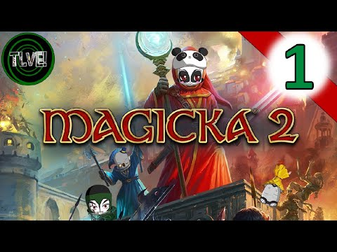 """Magicka 2"" VS The League [Episode 1] 