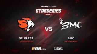 selfless vs bmc map 1 cobblestone sl i league starseries season 3 na qualifier