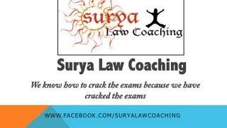surya law coaching welcome video