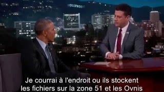 Obama refuse de divulguer toute information sur le sujet OVNI