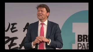 Richard Tice & Ann  Widdecombe at BREXIT Party Meeting London August 2019