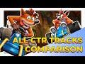 Crash Team Racing Nitro Fuelled - All Original Tracks Comparison