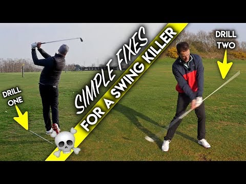 Simple Fixes For A Golf Swing Killer