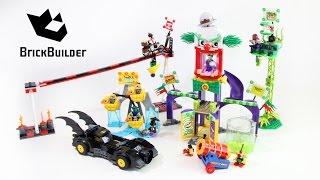 Lego Super Heroes 76035 Jokerland - Lego Speed Build