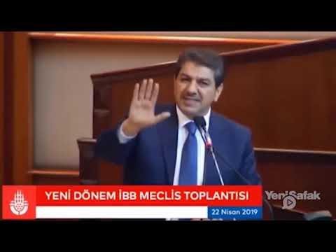 Hemşehrimiz Mehmet Tevfik Göksu'un İBB Meclis Konuşması
