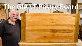 Making A Cupcake Pastry Board - A Woodworkweb Woodworking Video