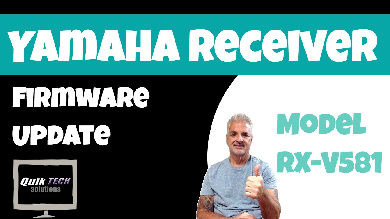 How To Update Firmware on a Yahama Home Theater Receiver