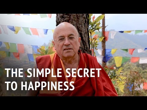 Matthieu Ricard – The Simple Secret to Happiness