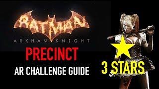 Batman Arkham Knight - Precinct AR Challenge - 3 Stars - Harley Quinn