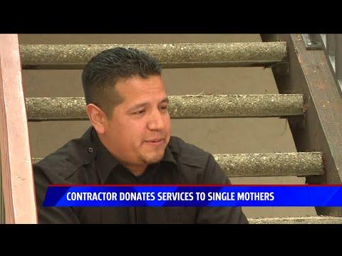 The Morning Rush - Handyman helps single moms for free