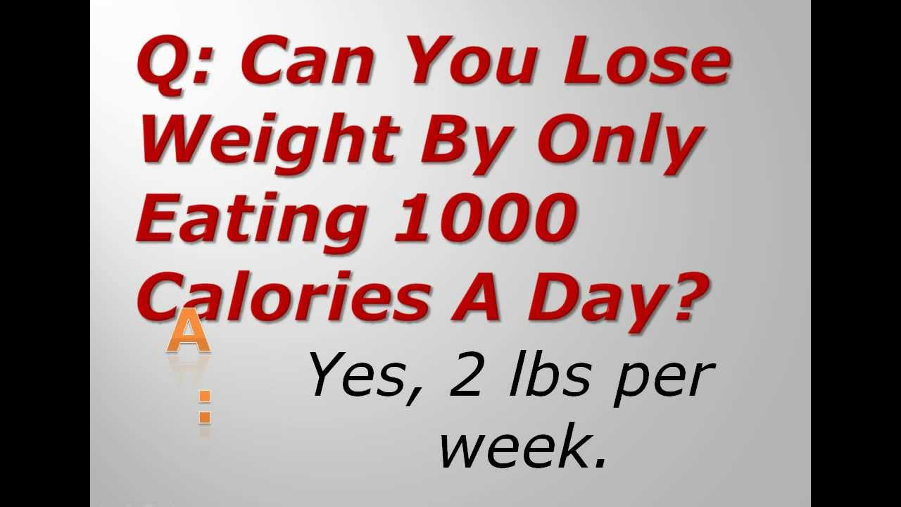 can you burn calories only by dieting