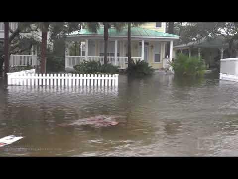09-16-2020 Perdido Key, FL - Hurricane Sally Aftermath - Surge - Wind Damage, Drone