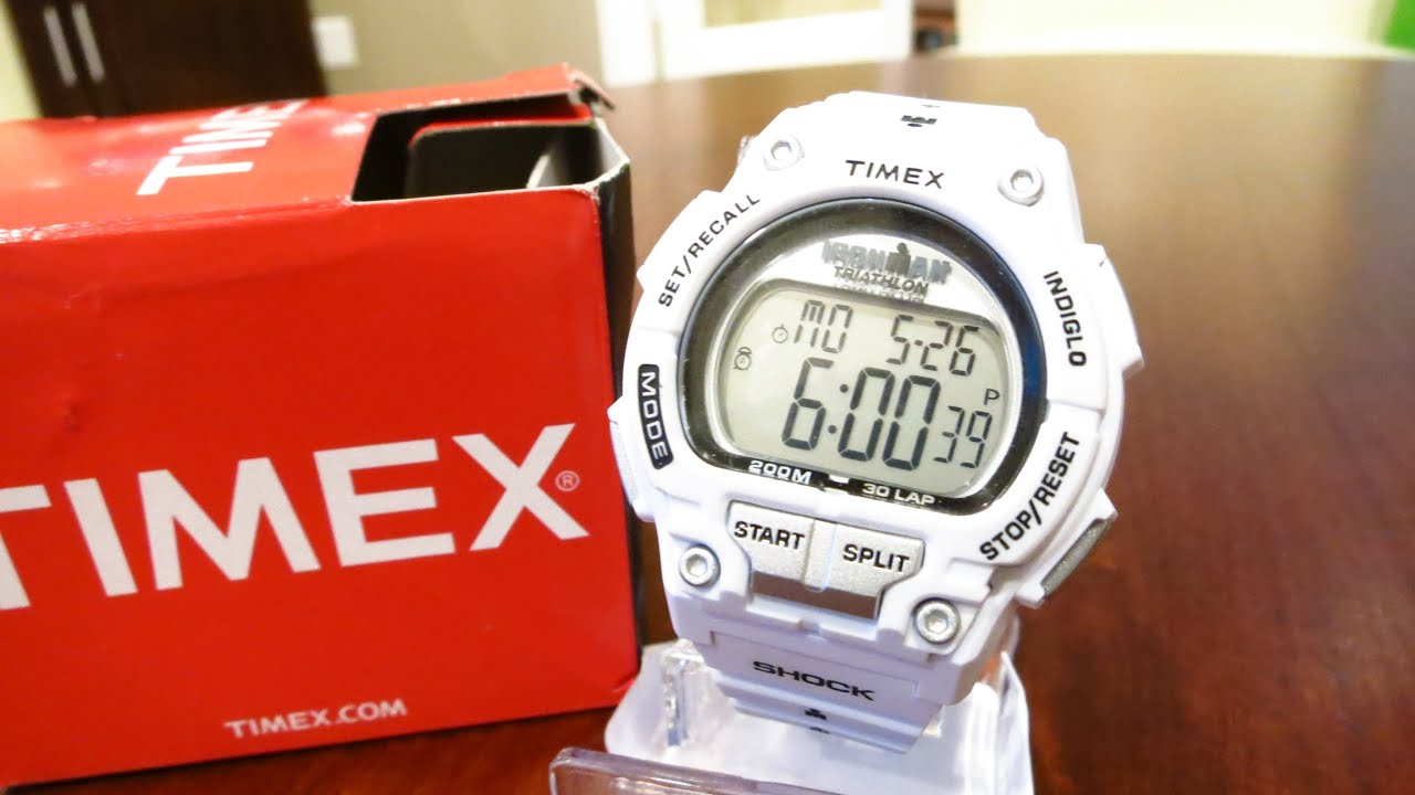 timex men s t5k429 ironman white watch unboxing and and review timex men s t5k429 ironman white watch unboxing and and review