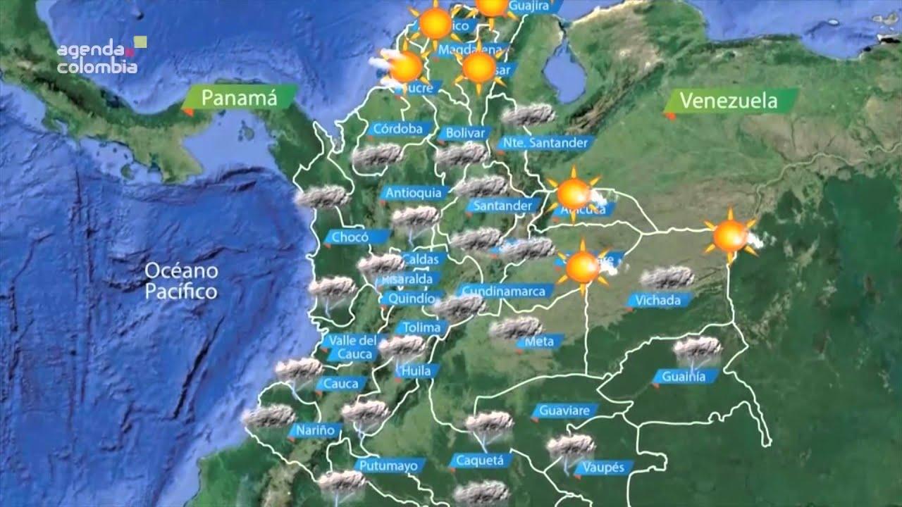 Estado del clima 10 de marzo de 2014 youtube for Temperatura en otura