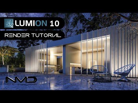 LUMION 10 Modern House / Casa Moderna Render Tutorial