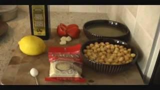 Easy Hummus Recipe, How To Make Hummus At Home