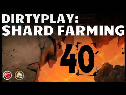 Castle Clash: Farming 40 Shard Dungeon + Boss3 + HBM H - Dirty Distaggio D146