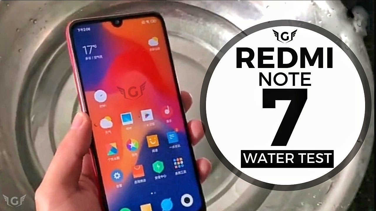 save off c6d23 60e78 Redmi Note 7 Water Test