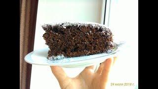 Очень Простой Шоколадный Пирог На Сметане
