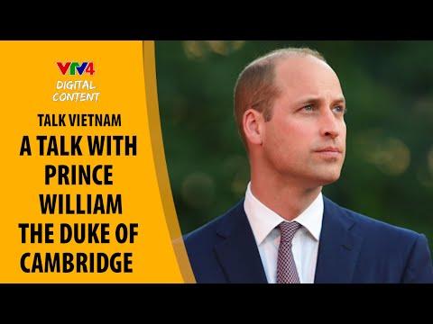 A talk with Prince William, the Duke of Cambridge