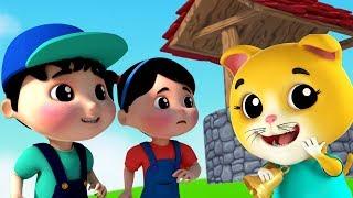 динь Донг Белл | рифмы в России | Детские рифмы для детей | Ding Dong Bell