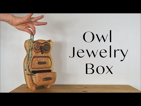 Owl Jewelry Box | DIY Bandsaw Box | How To