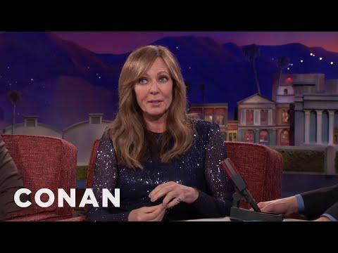 Allison Janney On Winning A Golden Globe & Being Starstruck By Oprah   CONAN on TBS