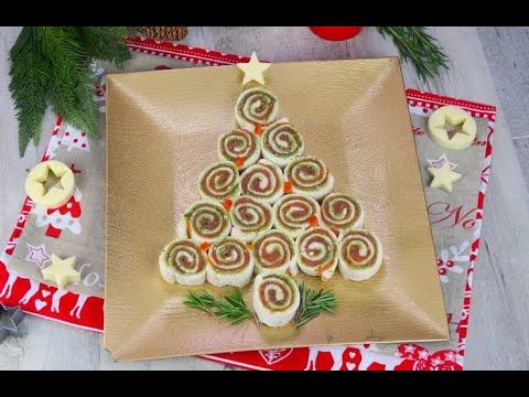 Antipasti Di Natale Semplici E Sfiziosi.Albero Di Girelle L Antipasto Originale E Sfizioso Per La Vigilia