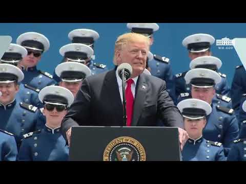 Speech: Donald Trump Delivers Address at U S  Air Force Academy Graduation  - May 30, 2019