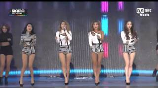 2014 MAMA SISTAR Touch My Body